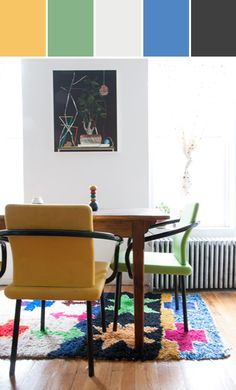 Colorful Home | Channeling the 80's #stylyze