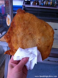 Bacalaito Puerto Rico - I know we shouldn't eat fried foods, but these are soooooooo good (licking lips)!