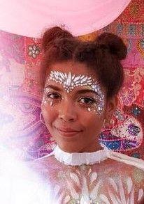 Glamorous Handmade Masquerade, Jewelries & Accessories by Glamorousgala Unicorn Princess, Face Jewellery, Diamond Face, Face Jewels, Face Stickers, Jewelry Accessories, Unique Jewelry, Rave Outfits, Masquerade