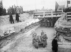 """Funerals for the so called """"October Revolution"""" - Oct 1917"""