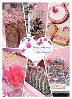 butterfly theme baby shower ideas