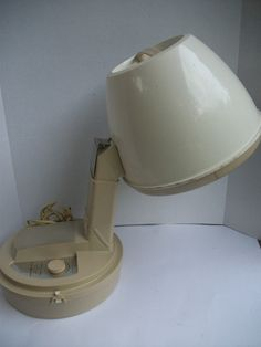 My mom had this exact hair dryer!