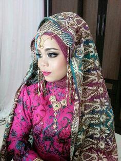 India wedding dihari pernikahan Ku..