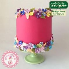 Save on silicone-molds and accessories. Not satisfied? We offer free and easy returns. Icing Flowers, Fondant Flowers, Clay Flowers, Sugar Flowers, Small Flowers, Karen Davies Moulds, Birthday Cake With Flowers, Birthday Cakes, Cold Porcelain Flowers