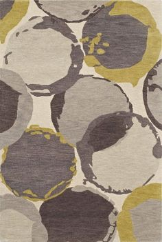 IS2 Ivory- from Dayln rugs. Love the curves and slight pops of color