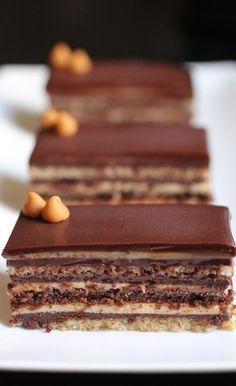 Com uma pitada de açúcar...: Torta Ópera