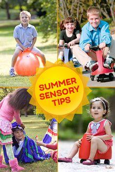 Summer Sensory Tips   Special Needs   Autism   SPD