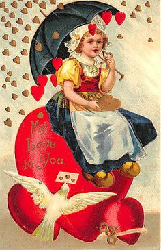 10 Gorgeous Valentines Day Decorations - Life Is Fun Silo Valentine Messages, Valentine Images, Vintage Valentine Cards, Saint Valentine, Valentines Day Hearts, Be My Valentine, Vintage Ephemera, Vintage Cards, Vintage Postcards