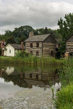 Old Bedford Village - French  Indian War Reenactment