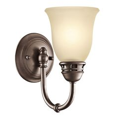 Durham Olde Bronze One-Light Wall Sconce