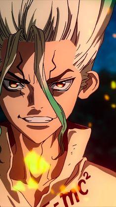 Typical student Taiju Oki tells his science-loving friend Senku Ishigami that he… – Dr. Anime Ai, Anime Guys, Manga Anime, Stone Wallpaper, 3840x2160 Wallpaper, Stone World, Estilo Anime, Animes Wallpapers, Anime Shows