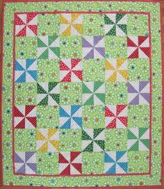 Studio Stuff: Pinwheel Quilt I