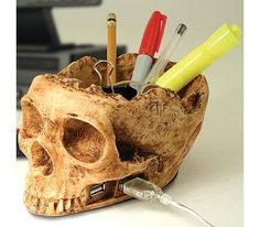 Skull USB Hub Brings Life to your Study