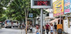 Conhecido como bairro mais quente do Rio, Bangu tem no calor uma tradição