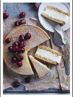 Hazelnut, orange and ricotta cake