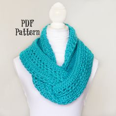 Learn how to crochet this basic circle scarf with my easy to follow crochet pattern! It's perfect for the chilly months. - Permission To Sell Finished Items. What You'll Need: 300g of 8ply Yarn (Or Bulky Yarn) N or 9.00 Crochet Hook Tapestry/Wool Needle Scissors Finished Size: Roughly 70 inches around and 8 inches wide. {Note: This all depends on how loosely or tightly you crochet.}