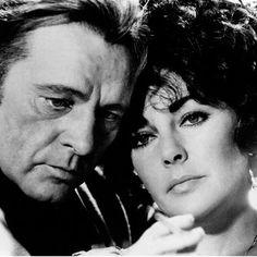 Richard Burton y Elizabeth Taylor
