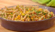 A fresh fall #pasta recipe: Butternut Squash & Parsley Penne #whatsfordinner