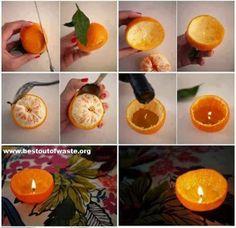 Best Out Of Waste | Best Craft Out Of Waste Orange Peel | http://bestoutofwaste.org