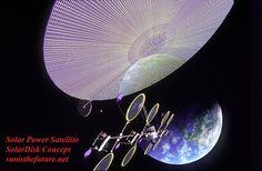 Solar_Power_Satellite_Solardisk_Concept