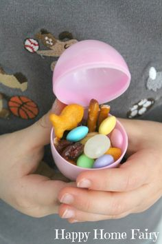 Easter story snack mix - Love this! Each thing represents a different part of the resurrection story