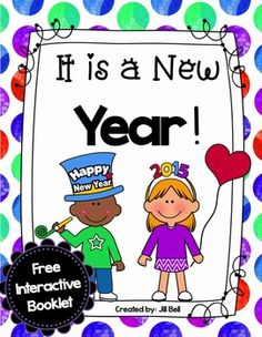 New Years 2015 - It is a New Year: Free Interactive Booklet