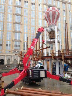 UNIC mini-crawler crane Crawler Crane, Heavy Equipment, Tractors, Spider, Budget, Plant, Trucks, Construction, Tools