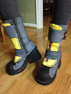 Maya Boots by LABINNAK.deviantart.com on @DeviantArt