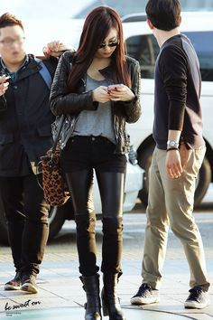SNSD Tiffany Incheon Airport to Beijing 131018