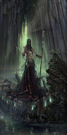 spassundspiele:  Charon - fantasy character concept by Raluca Iosifescu