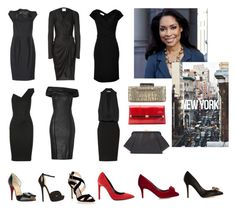 """""""Jessica Pearson's Little Black Dress Collection"""" by oliviapope411 ❤ liked on Polyvore"""