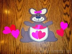 Promoting Kindness at Valentine's Day with a cute little craft
