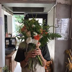 An entry from vilde kaniner Flower Boys, My Flower, Flower Farm, Plants Are Friends, Foto Pose, Poses, Pretty Flowers, Art Flowers, Aesthetic Pictures