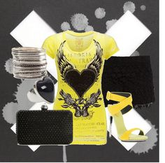"""Heart of Stone"" by glamatarian ❤ liked on Polyvore"