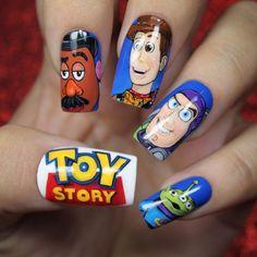 Nail art Toy Story