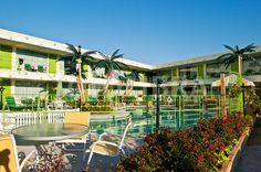 Caribbean Motel, Wildwood, NJ, USA.