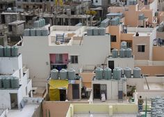 Reconstruction of the Nahr el-Bared Refugee Camp after it was destroyed in conflict.