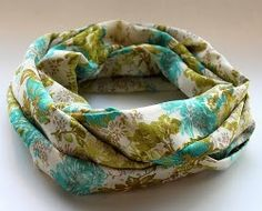 Lightweight Infinity Scarf | AllFreeSewing.com