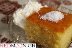 Απλό και πεντανόστιμο Παραδοσιακό Ραβανί Βέροιας Cornbread, Cooking Recipes, Menu, Pudding, Cake, Ethnic Recipes, Desserts, Food, Millet Bread