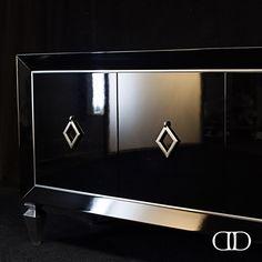 Bold Black: Dorya's Avenue Sideboard #Dorya #DoryaInteriors #DoryaHome…