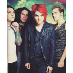 gerard way | Tumblr ❤ liked on Polyvore featuring my chemical romance, mcr…