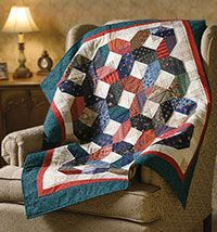 great easy scrap quilt - I've got the scraps ready for just such a quilt!  Scrappy is my fav!