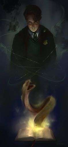 My name is Tom Riddle by gabrielleragusi on DeviantArt