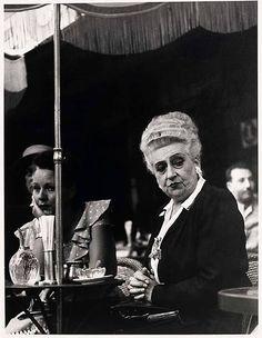 Todd WEBB :: Café Select, Champs Élysées, Paris, 1949