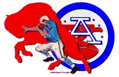 Buffalo Bills Logo, Buffalo Bills Football, Afc Nfl, American Football League, Nfl History, Vintage Football, Sports Equipment, Fictional Characters, Chiffon