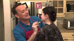 "Jimmy Kimmel has the BEST videos.  When this aired on TV....yep, I tinkled.  This is Tom Hanks doing a spoof on child beauty pageants with a fake/actress daughter.  HILARIOUS.  ""Toddlers & Tiaras with Tom Hanks"", via YouTube.  It's funny......EVERY time you watch it."