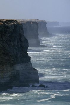 The massive Bunda Cliffs - South Australia