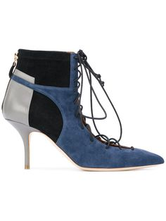 ff5a1633db07 Shop Malone Souliers block panel lace-up boots.
