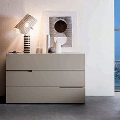 Beautiful, luxury 'Minus' chest of drawers by Morasutti Chest Of Drawers Decor, Modern Chest Of Drawers, Room Design Bedroom, Bedroom Decor, Cabinet Furniture, Furniture Design, Old Tables, Drawer Design, Modern Furniture