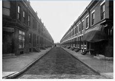 400 Block of Durfor Street looking towards 5th. Philadelphia 1925